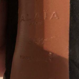 Alaia Shoes - 💥 ALAIA Stud Platform Booties 36.5